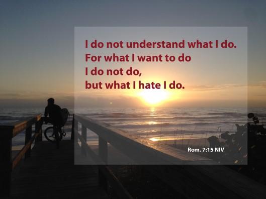 I DO NOT DO
